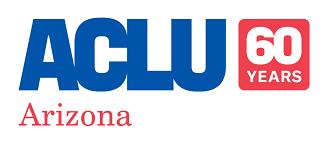 ACLU Of Arizona 60th Anniversary Logo